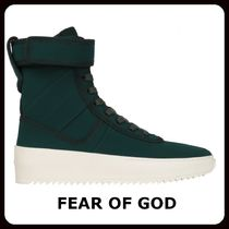 FEAR OF GOD Rubber Sole Casual Style Unisex Street Style Plain