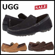 UGG Australia Plain Toe Loafers Suede Plain Loafers & Slip-ons