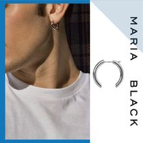 Maria Black Unisex Silver Earrings