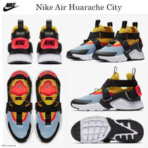 Nike AIR HUARACHE Street Style Low-Top Sneakers