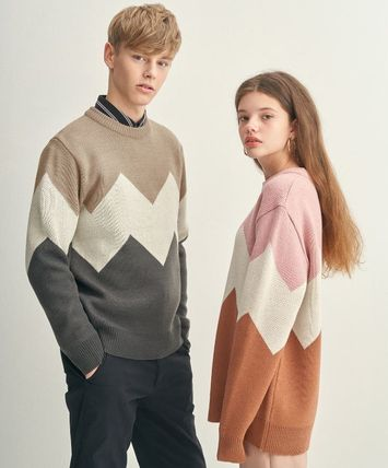 Unisex Long Sleeves Sweaters