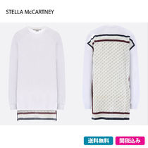 Stella McCartney Casual Style Street Style Long Sleeves Cotton