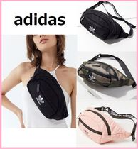 adidas Camouflage Casual Style Unisex Street Style Shoulder Bags