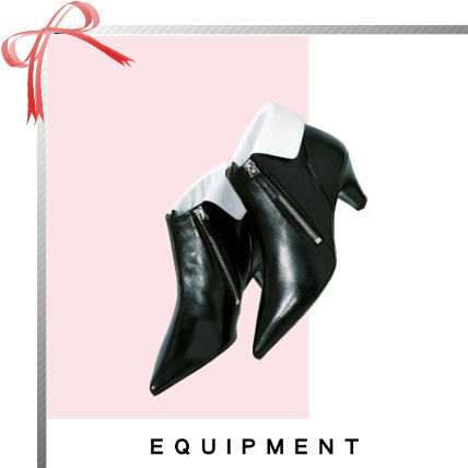 Collaboration Elegant Style Ankle & Booties Boots