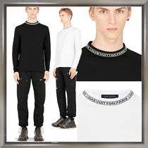Louis Vuitton Pullovers Long Sleeves Plain Cotton Long Sleeve T-Shirts