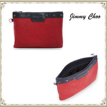 Jimmy Choo Unisex Street Style Bag in Bag A4 Other Animal Patterns