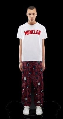 MONCLER More T-Shirts Street Style Collaboration Plain Short Sleeves T-Shirts 2