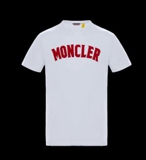 MONCLER More T-Shirts Street Style Collaboration Plain Short Sleeves T-Shirts 3
