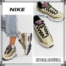 Nike Leopard Patterns Casual Style Street Style Low-Top Sneakers