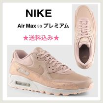 Nike AIR MAX 90 Casual Style Suede Low-Top Sneakers