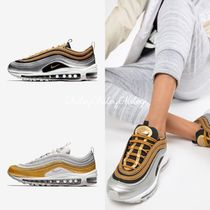 Nike AIR MAX 97 Casual Style Unisex Street Style Low-Top Sneakers
