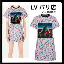 Louis Vuitton Short Monogram Casual Style Street Style Short Sleeves