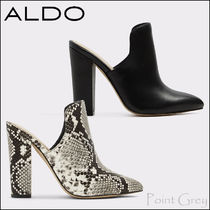 ALDO [ALDO] Leather High-heel Mule Sandal - Etalisien