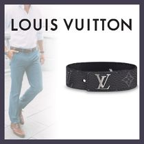 Louis Vuitton DAMIER GRAPHITE Other Check Patterns Unisex Blended Fabrics Street Style