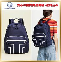 TORY SPORT Casual Style Street Style Plain Backpacks