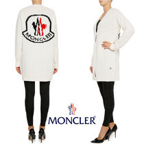 MONCLER MONCLER GAMME ROUGE Casual Style Cashmere Street Style Long Sleeves Plain Long