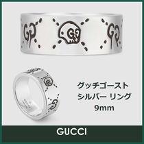 GUCCI Gucci Ghost Silver Rings
