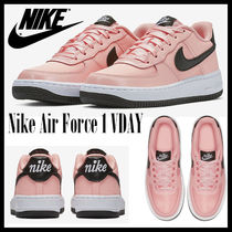 Nike AIR FORCE 1 Unisex Petit Street Style Kids Girl Sneakers