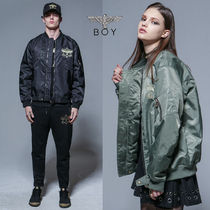 BOY LONDON Unisex Street Style Other Animal Patterns MA-1