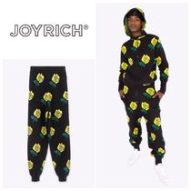 JOYRICH Flower Patterns Unisex Pants