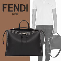 FENDI SELLERIA Calfskin 2WAY Business & Briefcases
