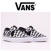 VANS Other Check Patterns Street Style Sneakers