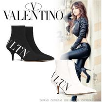 VALENTINO Plain High Heel Boots