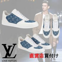 Louis Vuitton Monogram Leather Sneakers