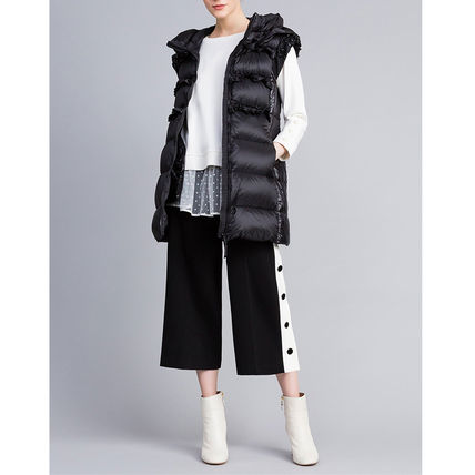 Plain With Jewels Down Jackets