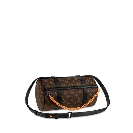 ... Louis Vuitton Messenger   Shoulder Bags Unisex Street Style Chain  Messenger   Shoulder ...