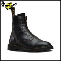 Dr Martens Round Toe Casual Style Plain Leather Ankle & Booties Boots