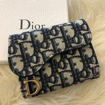 Christian Dior Canvas Folding Wallets