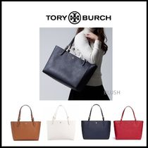 Tory Burch Saffiano A4 Plain Office Style Totes