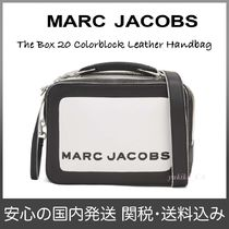 MARC JACOBS Casual Style 2WAY Bi-color Leather Shoulder Bags