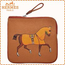 HERMES Unisex Leather Accessories