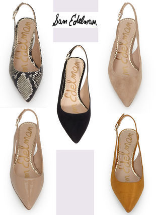 Python Pointed Toe Pumps & Mules