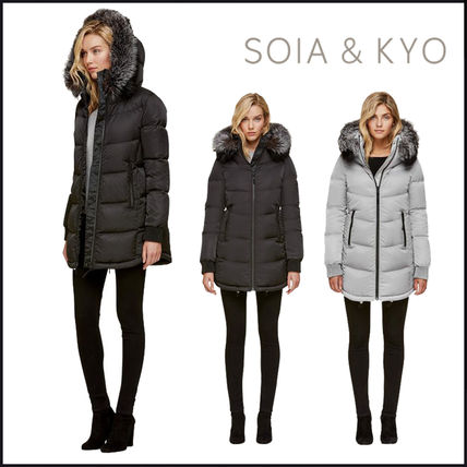Plain Medium Down Jackets