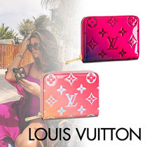 Louis Vuitton ZIPPY COIN PURSE Monogram Blended Fabrics Street Style Leather Coin Purses