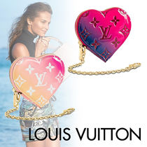 Louis Vuitton MONOGRAM VERNIS Monogram Blended Fabrics Street Style Chain Leather