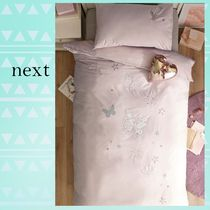 NEXT Plain Pillowcases Comforter Covers With Jewels Duvet Covers
