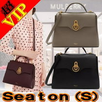 Mulberry 2WAY Leather Office Style Handbags