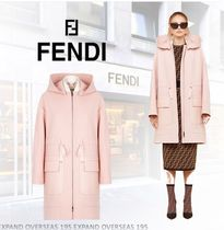 FENDI Other Check Patterns Plain Long Coats