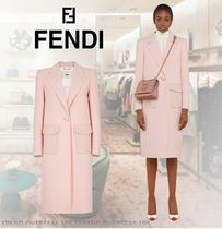 FENDI Plain Long Coats