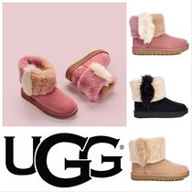 UGG Australia CLASSIC MINI Casual Style Sheepskin Plain Other Animal Patterns