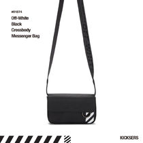 Off-White Unisex Street Style Leather Messenger & Shoulder Bags