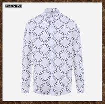 VALENTINO Long Sleeves Cotton Shirts