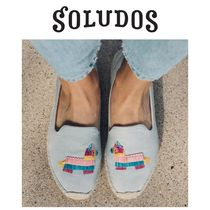 SOLUDOS Casual Style Flats