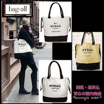 Bag all Casual Style Canvas A4 Totes