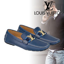 Louis Vuitton Driving Shoes Leather Loafers & Slip-ons