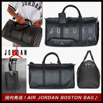 Nike AIR JORDAN Faux Fur Street Style A4 Boston Bags